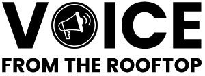 Voice from the rooftop logo